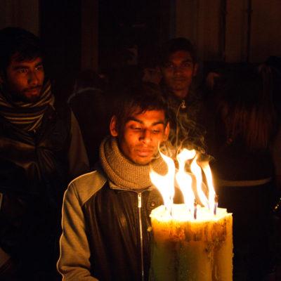 Sant'Agata: il volto dei devoti
